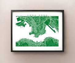 printable maps hong kong hong kong map print sooq central