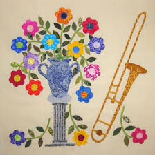 fabric therapy online posie vase trombone digital music