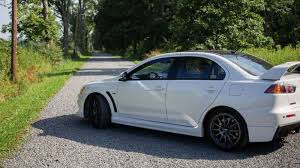 last car ever made the really truly last ever evo sold for twice its msrp
