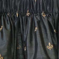 Fleur De Lis Curtains A L Ellis Inc Ellis Curtain Programs