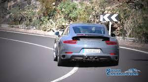 porsche 911 2016 new porsche 911 2016 test drive on road youtube
