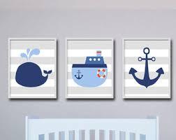 nautical nursery etsy