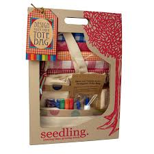 Kids Art And Craft Sets Amazon Com Seedling Design Your Own Tote Bag Toys U0026 Games