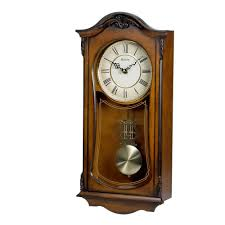 decorative clock chiming wall clock with westminster chime bulova cranbrook c3542