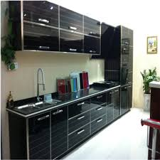 using high gloss paint on kitchen cabinets black kitchen cabinet with high gloss lacquer painting