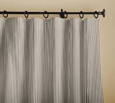 striped curtains pottery barn