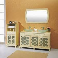china side cabinet with basin composed of mirror vanities mirror