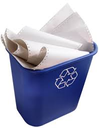 Recycling and Reducing Paper Use