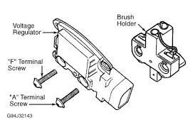 2002 ford ranger alternator wiring electrical problem 2002 ford