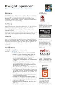Sql Dba Sample Resume by Unix Sys Administration Sample Resume 20 Oracle Dba Cv Database