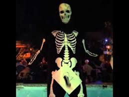 halloween skeleton costume youtube