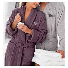 robe de chambre homme personnalisé peignoirs couples lepeignoir fr