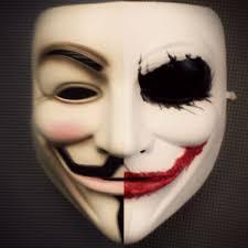 v for vendetta mask the vendetta joker painting mask