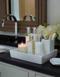 Bathroom Trays Vanity by Haus Alpina Klosters The White Company Chrissy Rucker