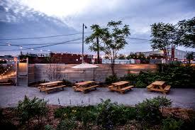 outdoor beer garden nowadays is creating a permanent indoor