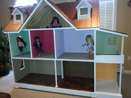custom built american 18 inch doll house one of a kind