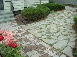 Irregular Stone Patio Bluestone Pavingstone Supply Pavingstone Supply