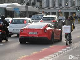 Ferrari F12 Matte Red - ferrari f12berlinetta novitec rosso 3 january 2013 autogespot