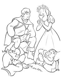 snow white 12 coloringcolor com