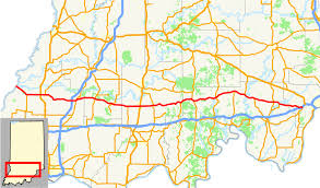 Illinois Road Conditions Map by Indiana State Road 64 Wikipedia