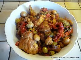 cuisine poulet basquaise recette poulet basquaise recette poulet basquaise plat avec photo