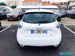 renault zoe electric 8 renault zoe white trunk hatchback 5 door electric vehicle