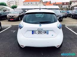 renault zoe electric 8 renault zoe white trunk hatchback 5 door electric vehicle