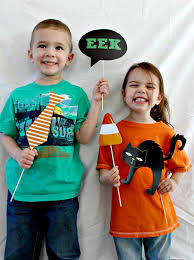halloween 34 piece photo booth props printable download craft