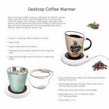 Different Shapes Coffee Mug Online Amazon Com Desktop Heated Coffee Tea Mug Warmer Candle U0026 Wax