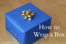 wrapped gift boxes how to gift wrap a box blossomsandposies