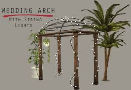 wedding arches in sims 4 lighted wedding arch at leo sims sims 4 updates cc the sims 4