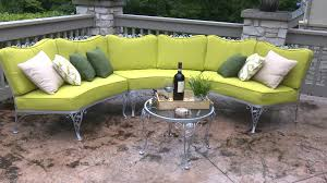 Curved Modular Outdoor Seating by Patio Furniture 42 Unforgettable Curved Patio Sofa Image Design