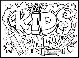 Printable Coloring Pages For Teens Kids Coloring Pages To Colour In