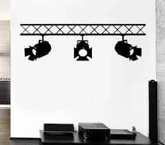 online get cheap wall sticker company aliexpress com alibaba group spotlights studio salon interior cinema cinematography mural vinyl wall decal art wall sticker film studio company