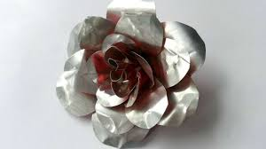 metal roses how to create recycled metal diy crafts tutorial