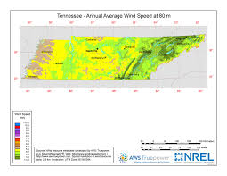 Tennessee vegetaion images Windexchange tennessee 80 meter wind resource map jpg