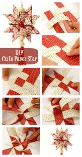 diy cute paper star i u0027ve always wanted to know how to make these