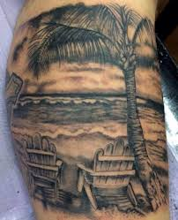 palm tree by the sea http tattootodesign com