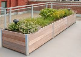 rooftop u0026 balcony planters landscaping network