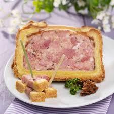 cuisine franc comtoise pâté en croûte franc comtois aux morilles auchan traiteur