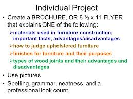 Different Wood Joints And Their Uses by Objective 5 02 Critique Components Of Quality Furniture