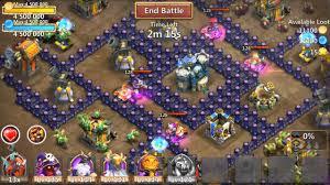 game castle clash mod apk castle clash 1 2 550 mod apk unlimited money apkandios com youtube