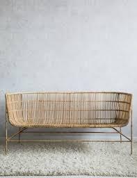 natural bamboo two seater sofa at rose u0026 grey
