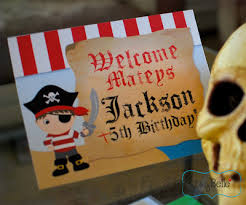 parties captain jackson u0027s pirate party itsy belleitsy belle