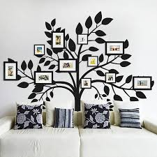 floating shelves with picture frames home design ideas tree wall decals with picture frames