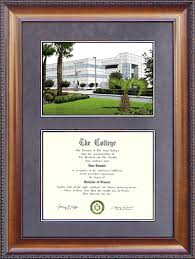 document frame embry riddle document frame with suede mat cus lithograph
