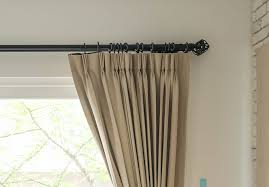 tips to choosing beautiful pinch pleat curtains i already have my curtains how do i know what kind of curtain