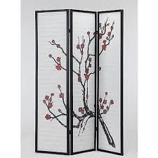 Freedom Room Divider Japanese Style U0027tokyo U0027 Cherry Blossom Room Divider U2013 Freedom Homestore