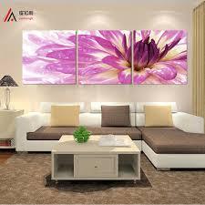 Aliexpress Home Decor Aliexpress Com Buy Triptych Canvas Art Home Decor Flower Nordic