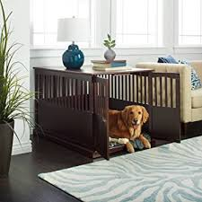 amazon com sale dog crate end table kennel pet cage wood